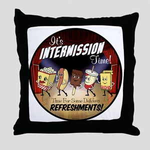 Intermission Time Throw Pillow